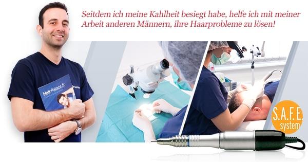 Haartransplantationsoperation bei Hairpalace
