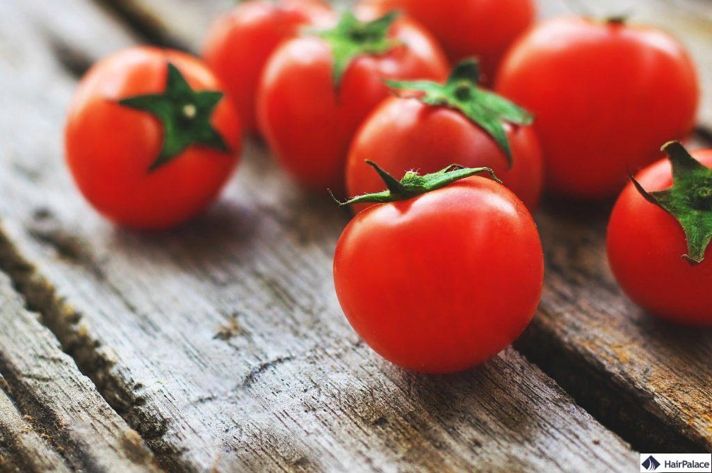 Tomaten sind einer der besten DHT-Blocker